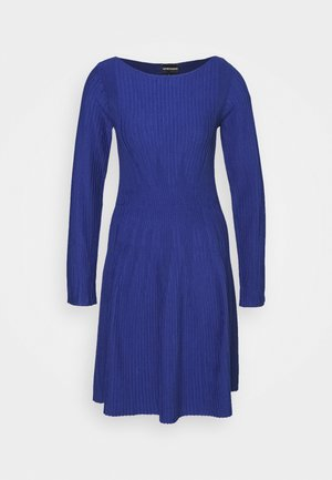 DRESS - Jumper dress - blu royal