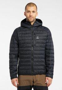Haglöfs - SPIRE MIMIC HOOD  - Winter jacket - true black - 0