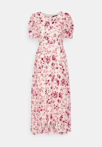 FLORAL DRESS - Kjole - ivory