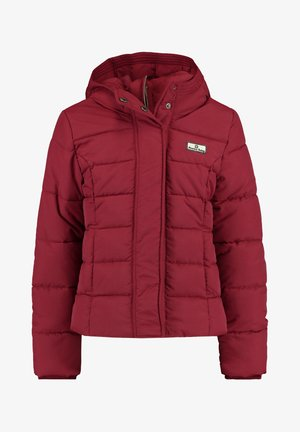 Winter jacket - wine