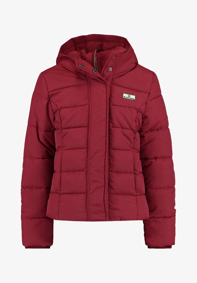 Winter jacket - wine
