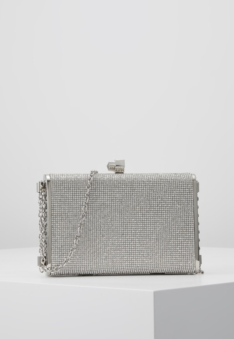 New Look - DIANA - DIAMONTE BOX CLUTCH - Psaníčko - silver