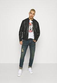 Only & Sons - ONSDEAN JACKET - Leather jacket - black - 1