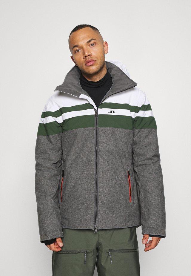 FRANKLIN  - Lyžařská bunda - thyme green
