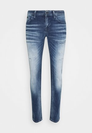 OZZY - Jeans Tapered Fit - blue denim