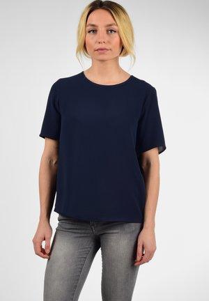 BLUSE CRYSTAL - Print T-shirt - sky