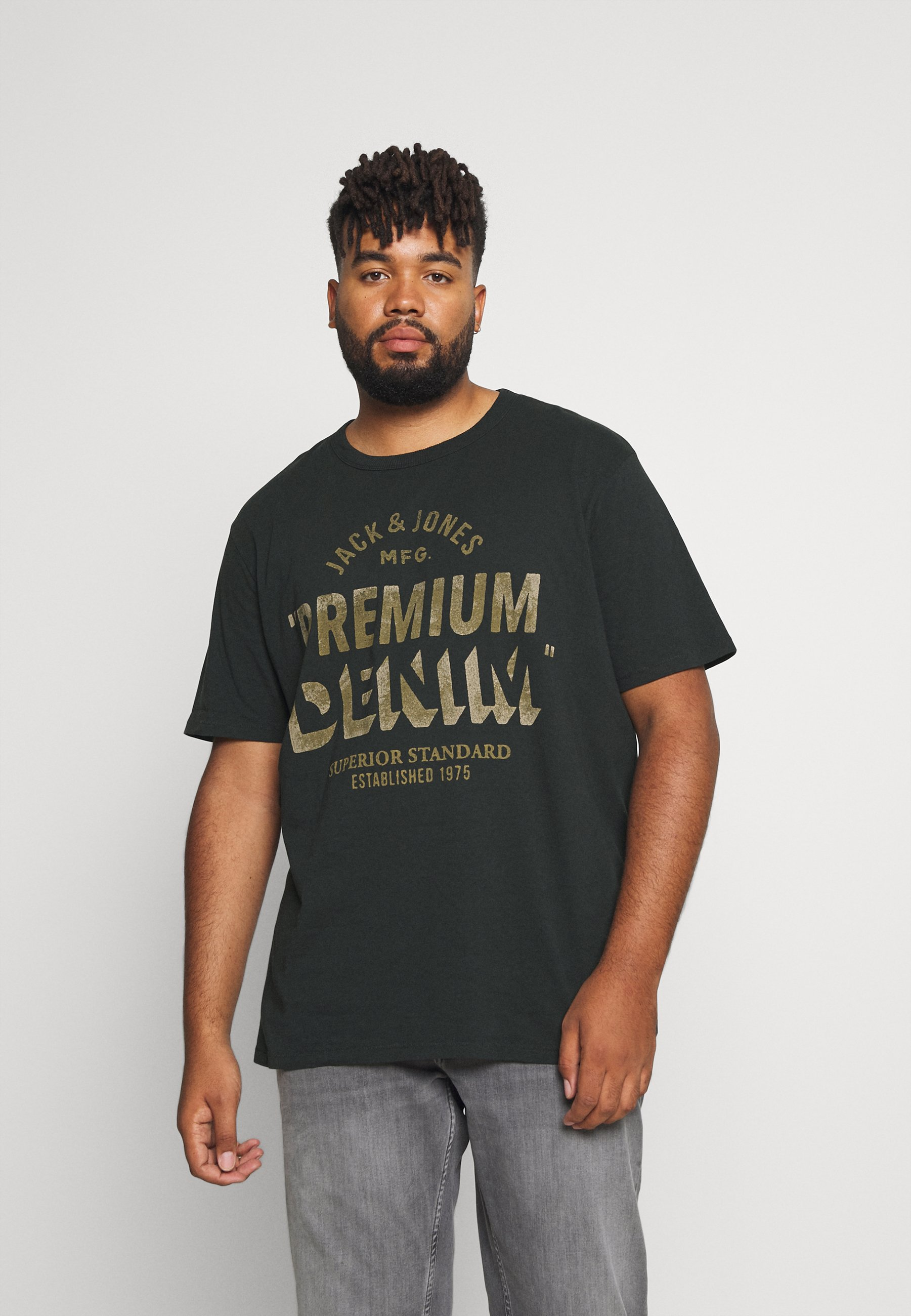 Herren JPRBLUREED TEE CREW NECK - T-Shirt print