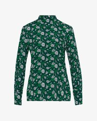 IVY & OAK - STAND UP COLLAR BLOUSE - Blouse - evergreen - 5