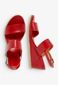 Bianco - Wedge sandals - red - 2