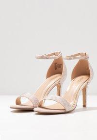 Head over Heels by Dune - MADDI - Sandales à talons hauts - nude/metallic - 4