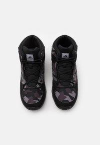 adidas Performance - TERREX HYPERHIKER UNISEX - Hiking shoes - core black/night grey - 3