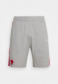 CHICAGO BULLS SIDE PANEL - Sports shorts - grey