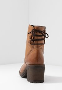 Anna Field - LEATHER BOOTIES - Classic ankle boots - cognac - 5
