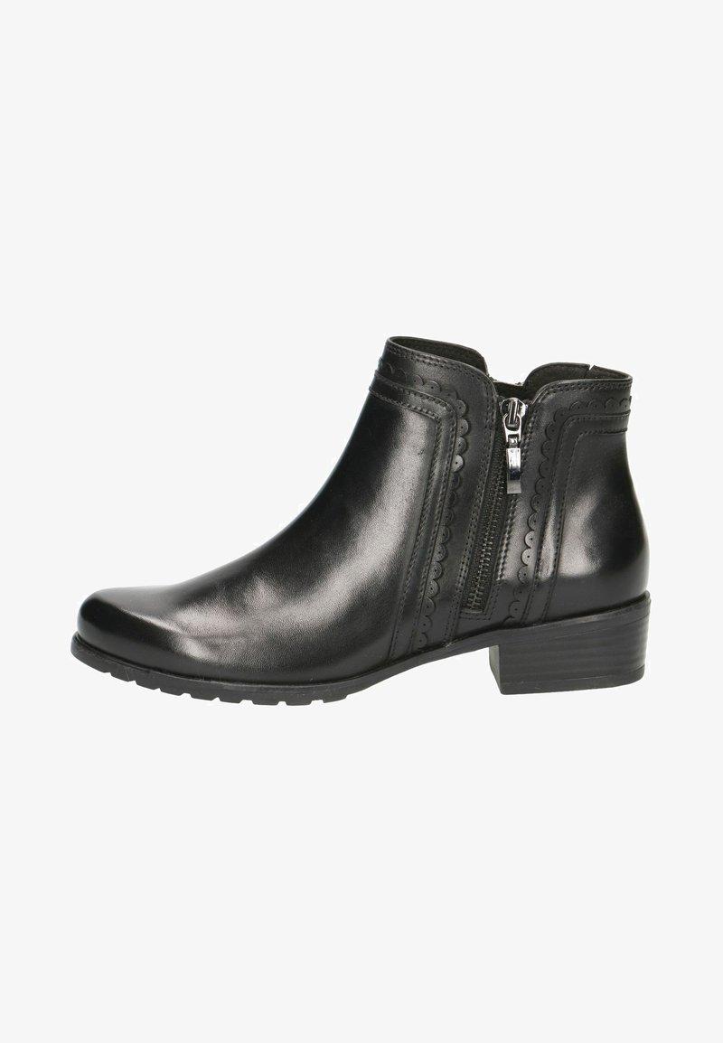 Caprice - Kotníková obuv - black nappa