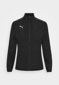 Puma - TEAMGOAL SIDELINE JACKET - Training jacket - black - 5
