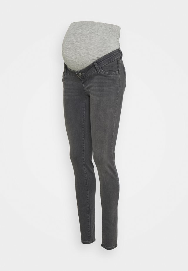 MLOKLAHOMA - Slim fit jeans - dark grey denim