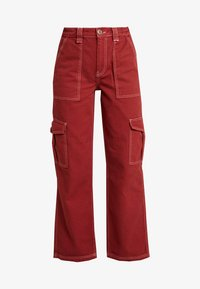 BDG Urban Outfitters - CONTRAST SKATE - Jeans relaxed fit - brick - 3