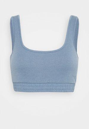 MILA LOUNGE BRALETTE - Camiseta de pijama - blue
