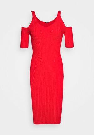 JESSICA DRESS - Pouzdrové šaty - necessary red