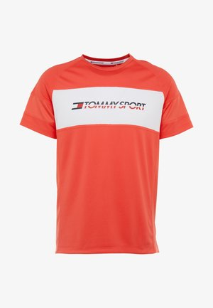 PERFORMANCE TEE - T-shirt con stampa - hibiscus