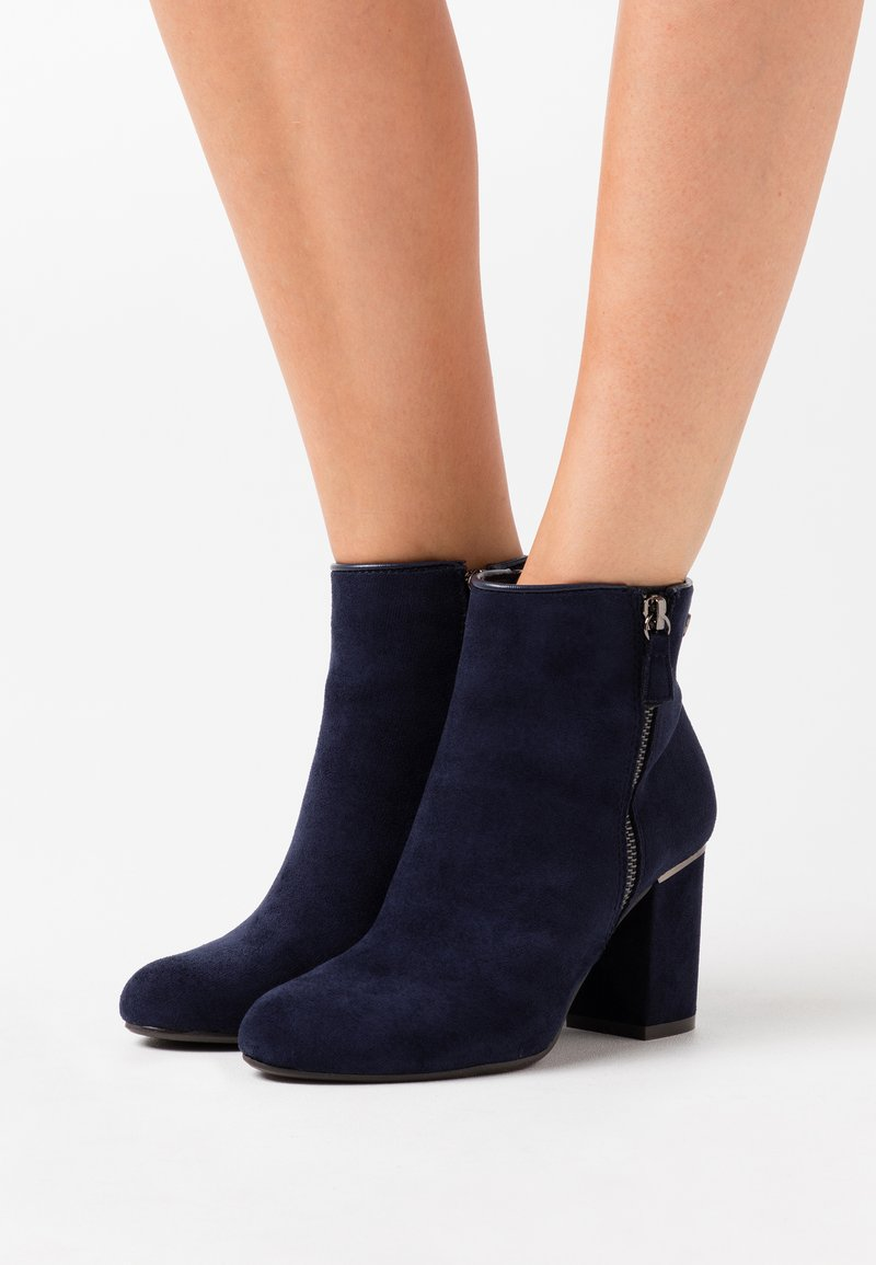 XTI - Ankle boots - navy