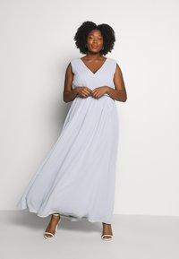 Chi Chi London Curvy - LARK DRESS - Cocktail dress / Party dress - blue - 1