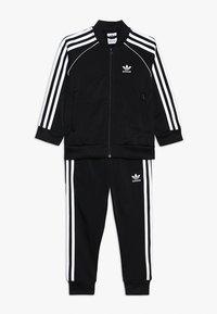 adidas Originals - SUPERSTAR SUIT - Verryttelypuku - black/white - 0