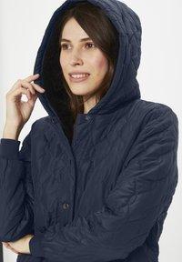 Kaffe - KASALLE - Winter coat - midnight marine - 3