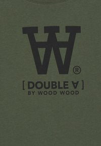 Wood Wood - OLA KIDS - T-shirts print - army green - 2