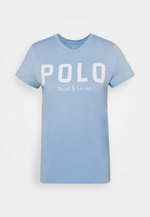 Print T-shirt - carolina blue
