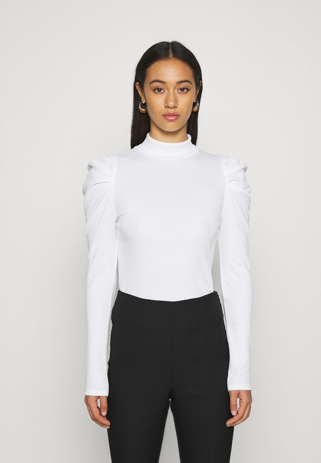 RONJA - T-shirt à manches longues - white light solid