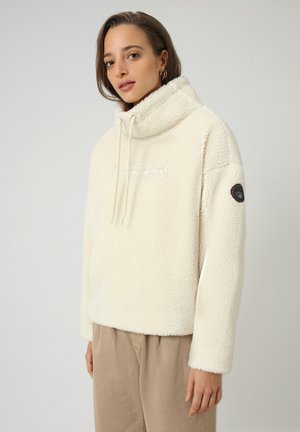 TEIDE - Fleece jumper - whitecap gray