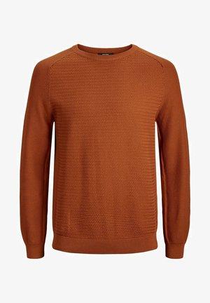 JPRPOST CREW NECK - Jumper - orange