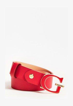 Belt - rouge