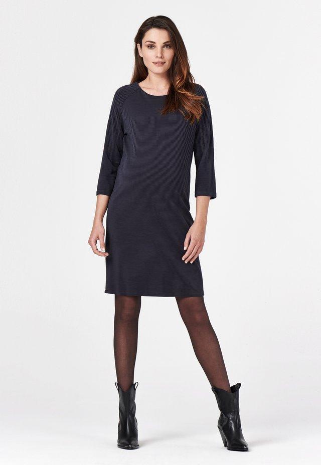 SALVADOR - Jumper dress - Gebreide jurk - blue graphite