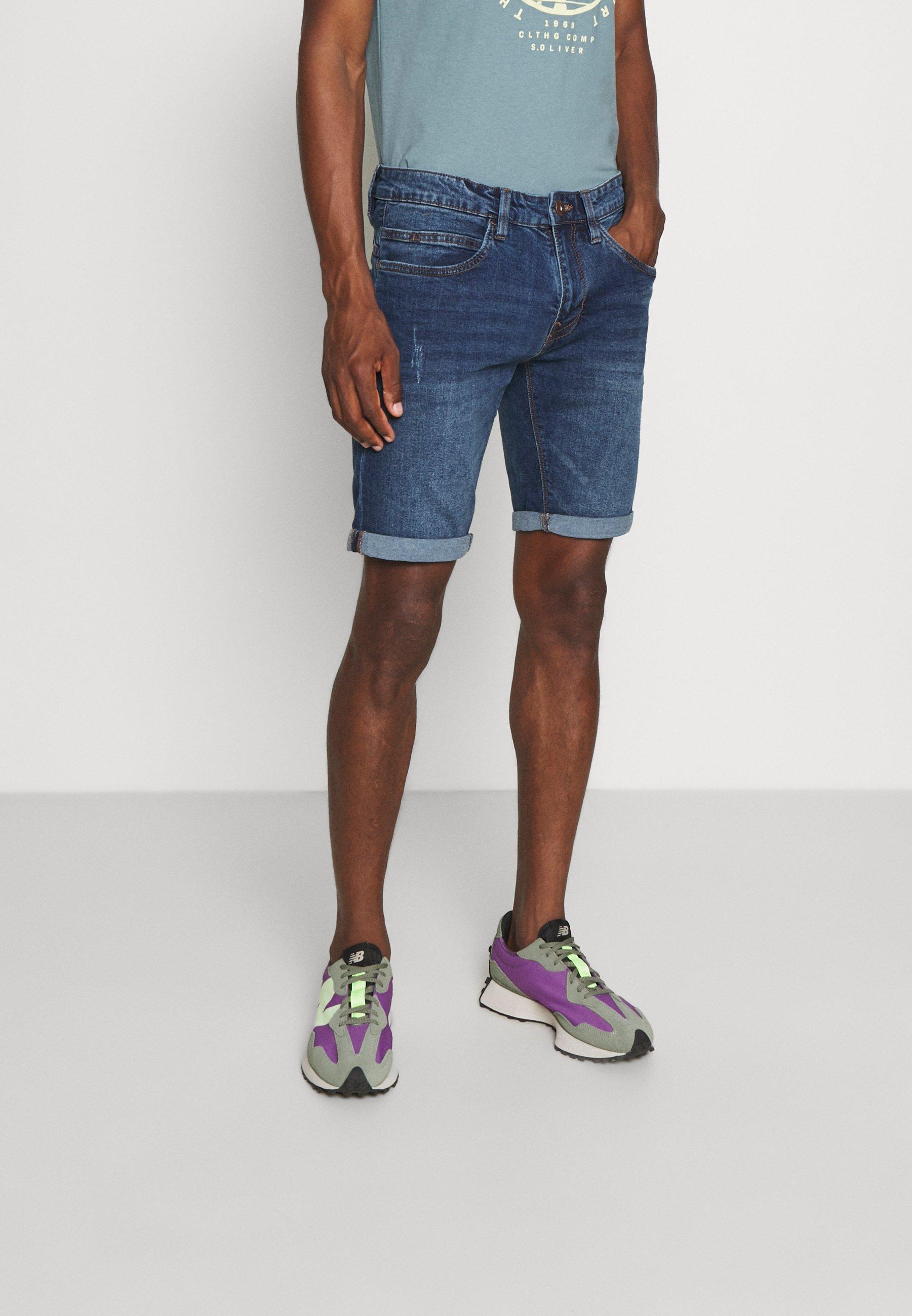 Men KADEN - Denim shorts