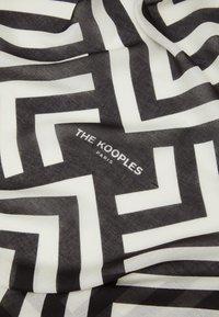 The Kooples - Foulard - black/white - 3