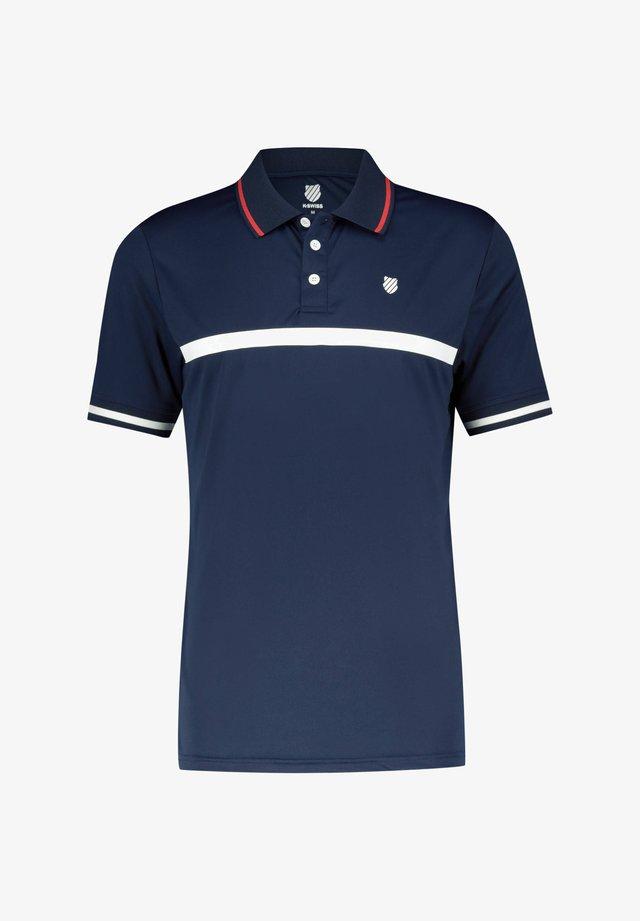 """K-SWISS HERREN TENNIS POLOSHIRT """"HERITAGE CORE"""" KURZARM - Polo shirt - marine"""