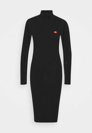 NALS - Žerzejové šaty - black