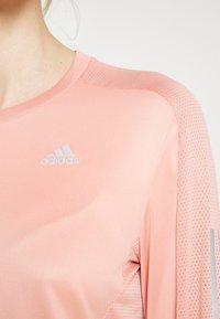 adidas Performance - TEE - Treningsskjorter - ambient blush - 4