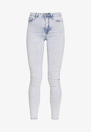 HIGHWAIST - Jeans Skinny Fit - blue snow