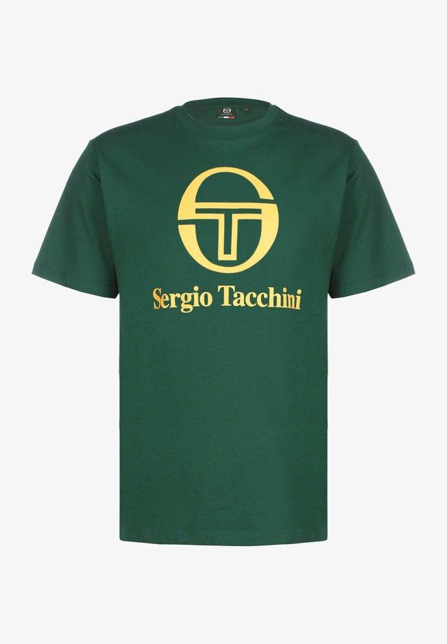 T-shirt imprimé - botanical/yellow