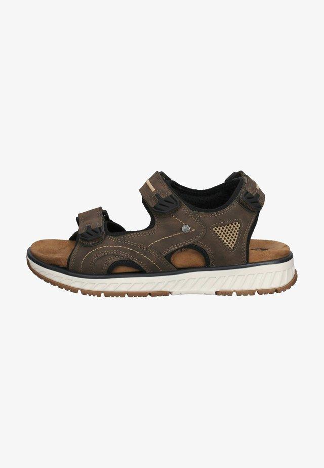 Walking sandals - dunkelbraun
