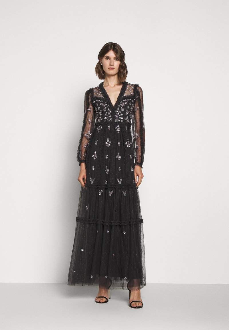 Needle & Thread - PENELOPE SHIMMER GOWN - Occasion wear - graphite