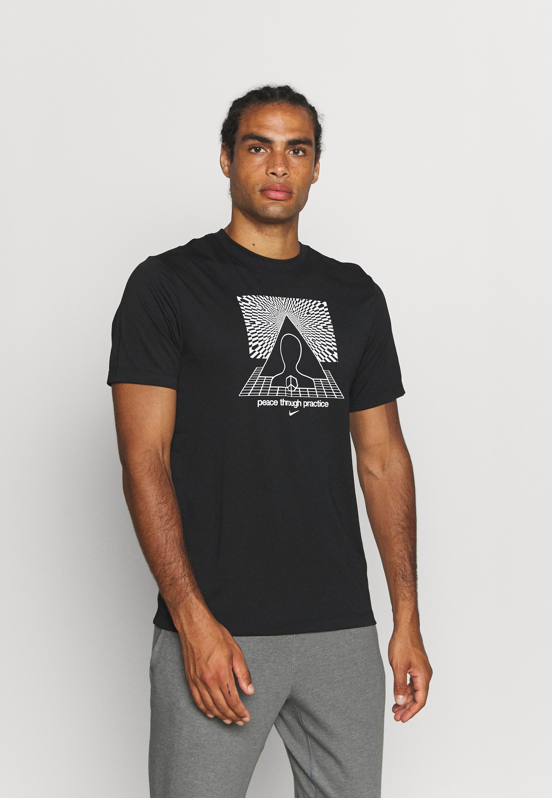 Homme TEE YOGA - T-shirt imprimé