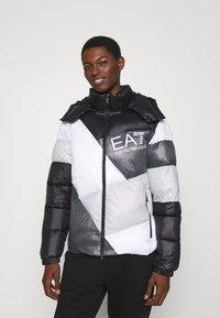 EA7 Emporio Armani - Winter jacket - black/white - 0