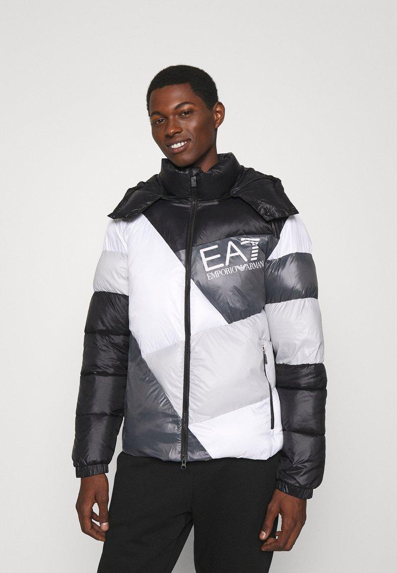 EA7 Emporio Armani - Winter jacket - black/white