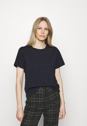 BASIC  - T-shirts - navy