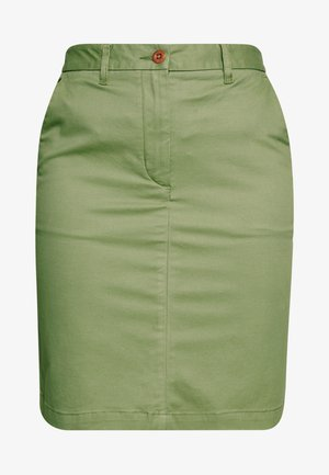 CLASSIC CHINO SKIRT - Blyantskjørt - oil green