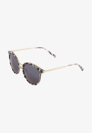 Sunglasses - schwarz gemustert-light gold